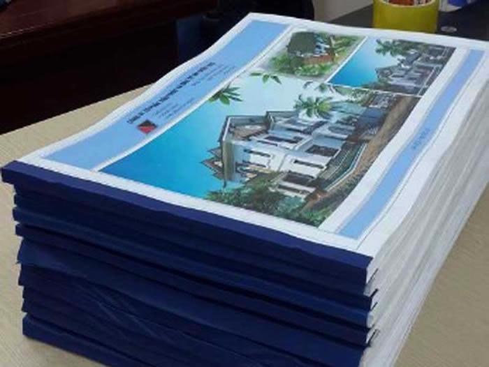 In ấn Hồ sơ, bản vẽ